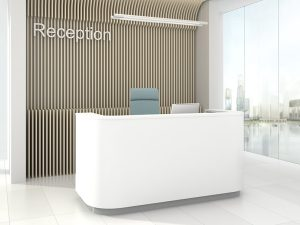Cosy Reception Desk